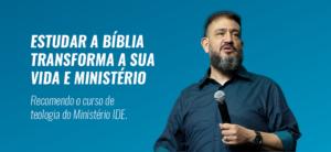 ESTUDAR A BÍBLIA TRANSFORMA SUA VIDA E SEU MINISTÉRIO – Luciano Subirá